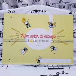 Mon cahier de musique à...